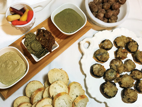Pairing hors d'oeuvres with wines