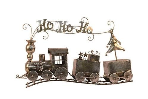 Christmas Train Metal