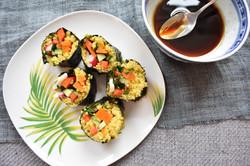 Quinoa & Miso Carrot Sushi