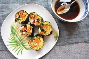 Quinoa & Miso Carrot Sushi Recipe