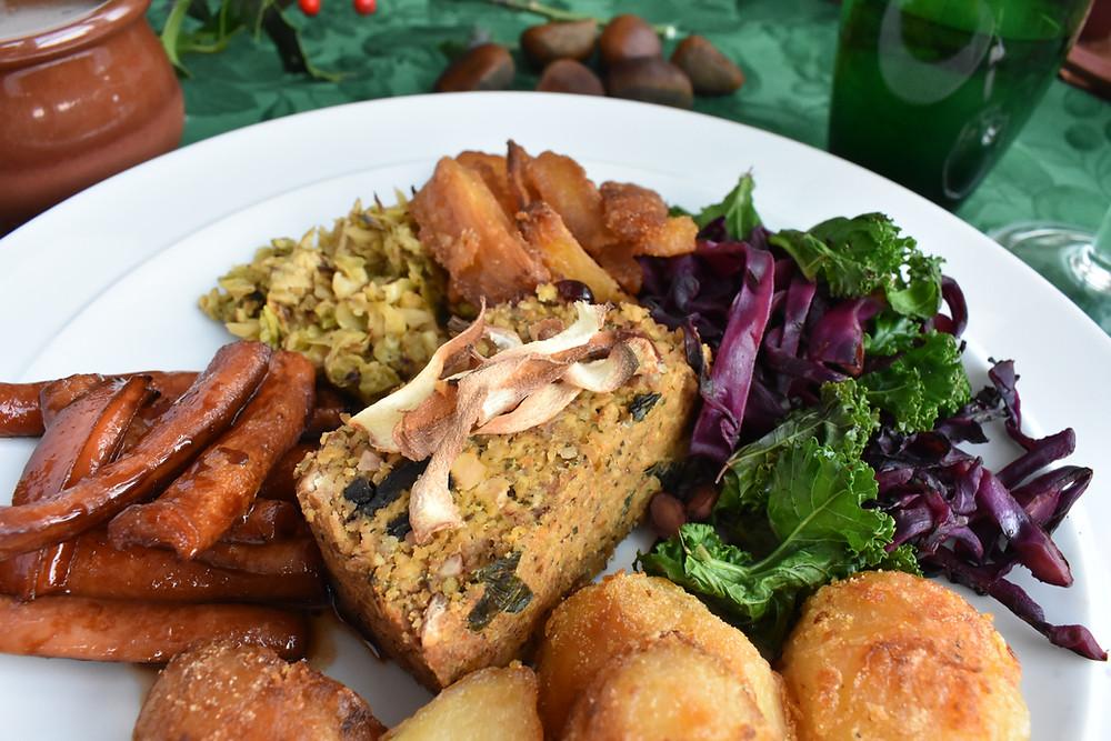 Vegan LowFODMAP Christmas Roast!