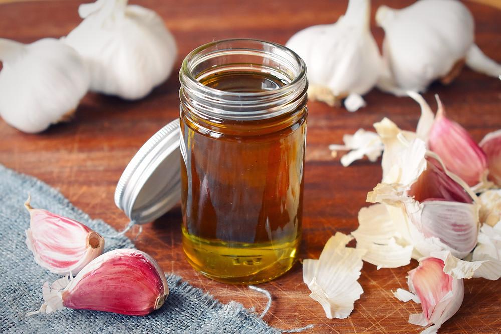 Low FODMAP Garlic Infused Olive Oil