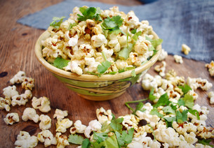 Curry Spiced Popcorn
