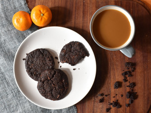 Triple Chocolate Cookies! You Won't Believe They Are LowFODMAP & Vegan!