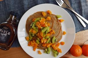 LowFODMAP Vegan Pancakes!