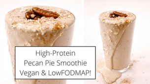 High-Protein Pecan Pie Breakfast Smoothie
