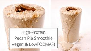 High-Protein Pecan Pie Breakfast Smoothie