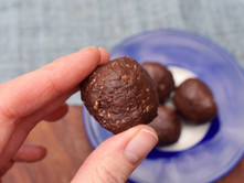 High Protein Chocolate Cookie Dough Balls