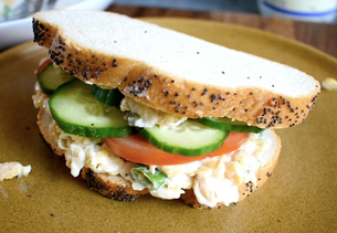 Chickpea & Mayo Sandwich Filling