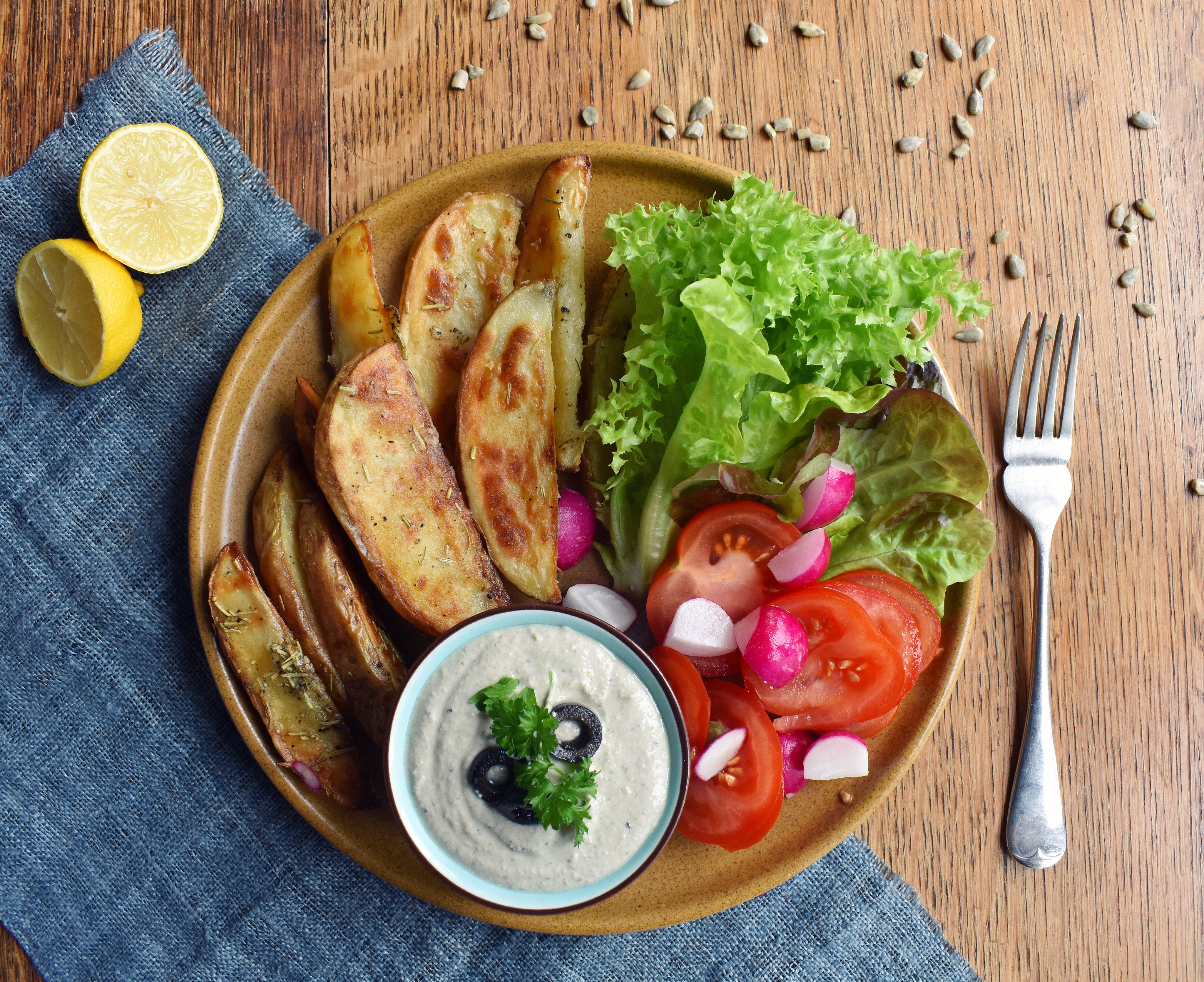 The Best Ever Potato Wedges!