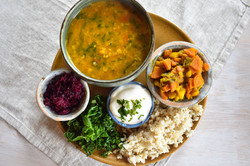 Nepalese Dal Bhat