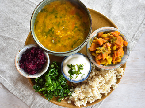 Nepalese Dal Bhat - Low FODMAP-afied