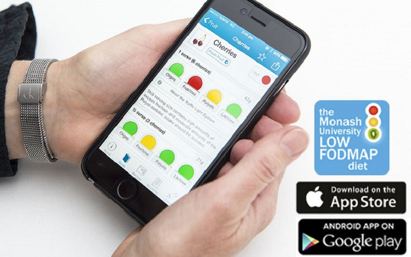 The Monash FODMAP App