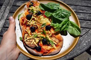 Pizza! Low FODMAP and Vegan