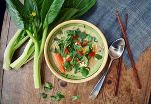 10-Minute Coconut Satay Noodle Soup