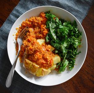 Quinoa Chili - Easy To Cook In Bulk