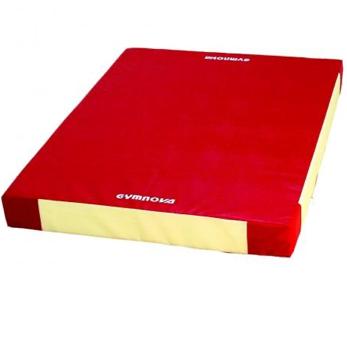 GYMNOVA - Matelas 240 x 200 x 20cm 1 coté dur avec velcro de liaison