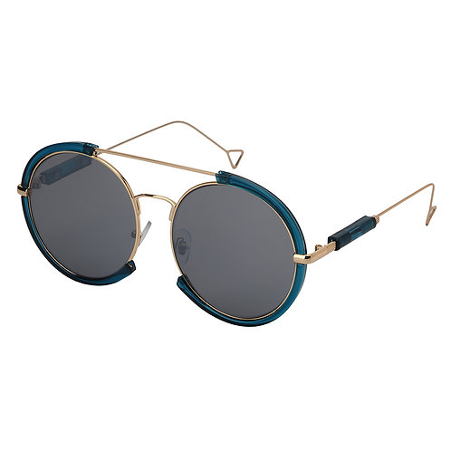 Round Acrylic Frame Sunglasses