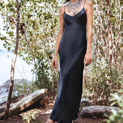 Sexy Satin Long Dress