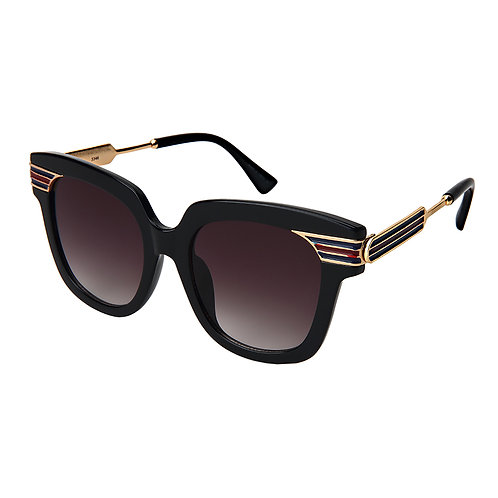 Cat Eye Solid Frame Sunglasses