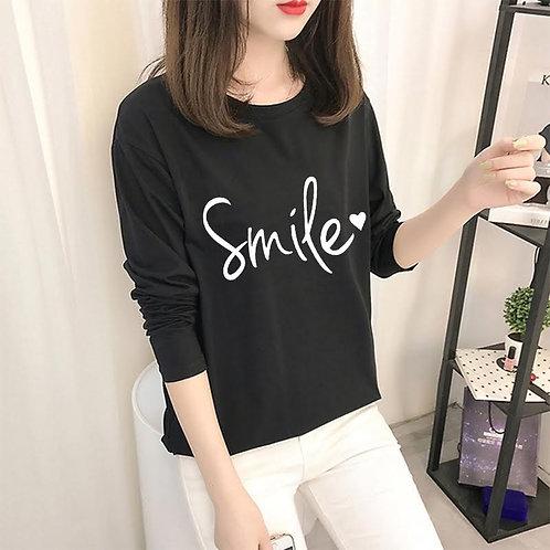 Smile Black Tee