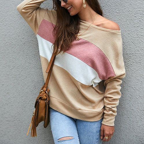 Striped Knitted Long Sleeve