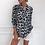 Thumbnail: Leopard Print Tunic Casual Blouse