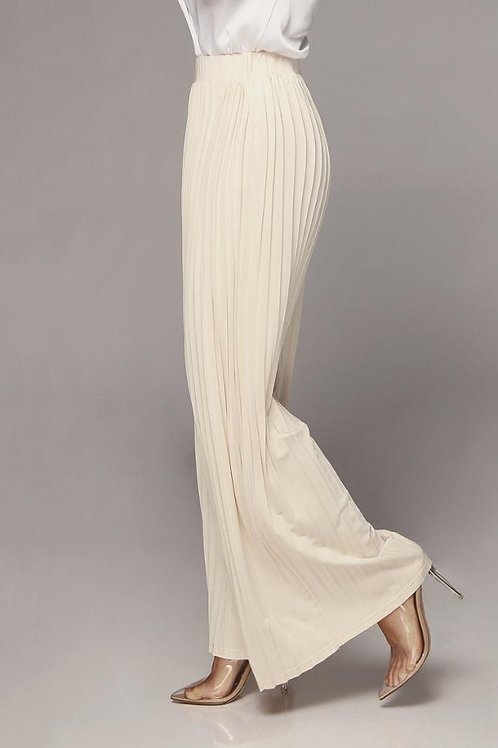 High Waist Pleated Trouser