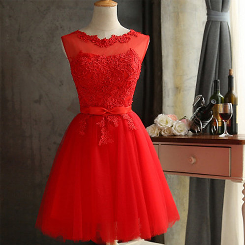 Lace short new style Wedding/Prom party dress