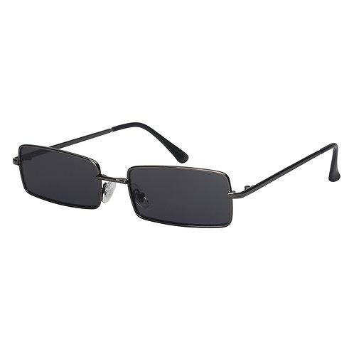 Square Frame Flat Lens Sunglasses