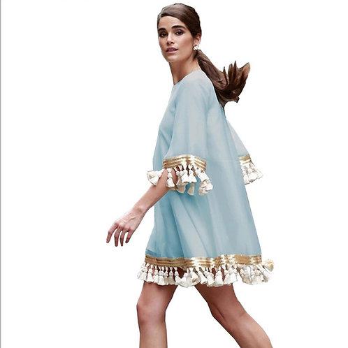 Flare Satin Dress