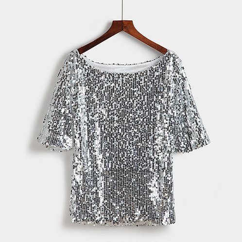 Sequin Party Blouse
