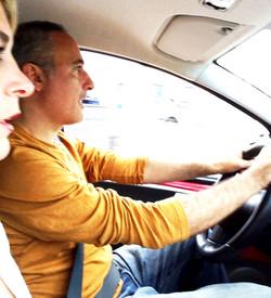 Alex Kouri y Andrea Llona de excursi