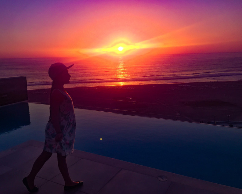 Sunset de colores