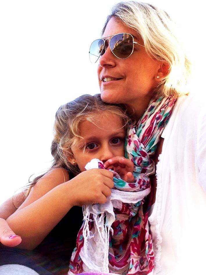 2013- Parque faro, con Mama