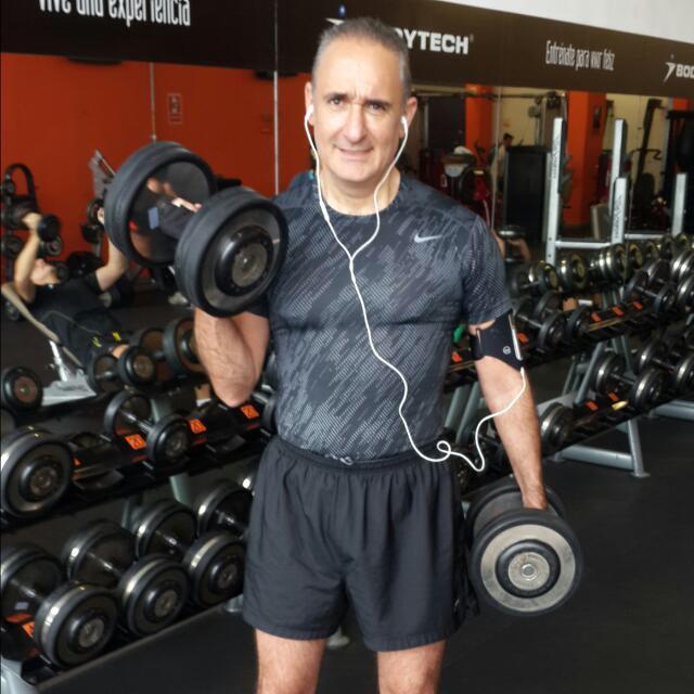 Alex Kouri gym