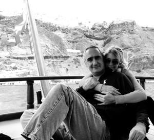 Visita al volcán- Alex Kouri y Andrea LLona