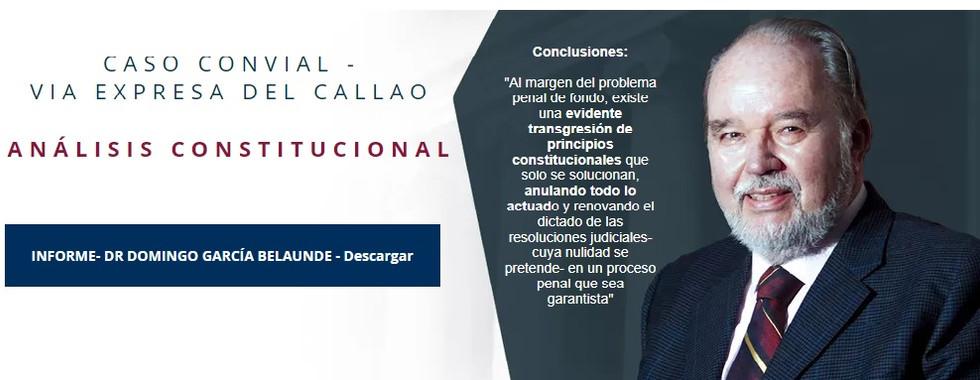 Dr Domingo García Belaunde - Experto Constitucionalista