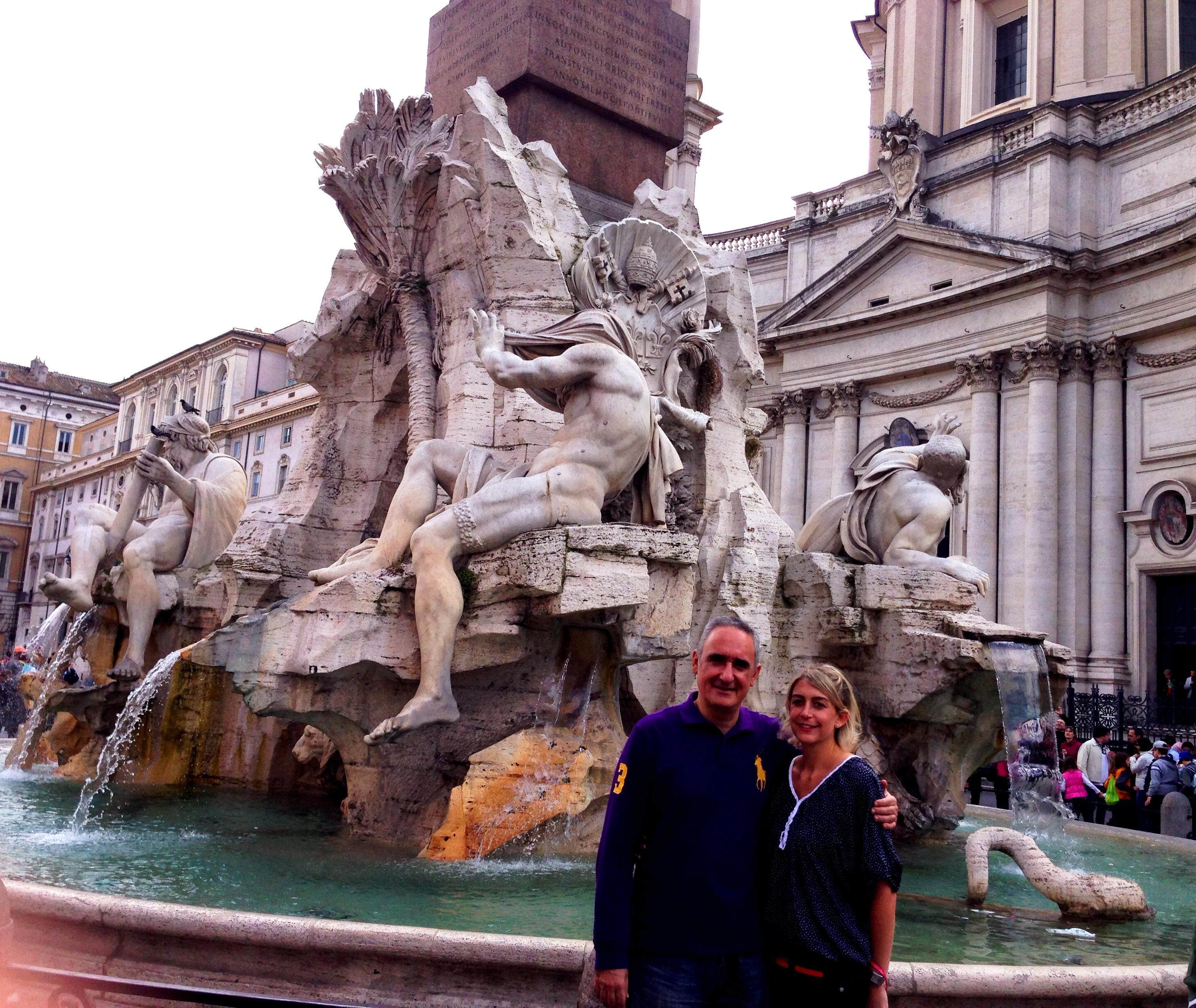 Piazza Navona- Alex Kouri y Andrea Llona