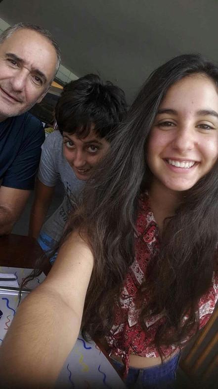Alex, Valentina, Mateo