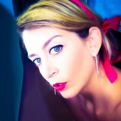 Andrea LLona Barreda- red lips