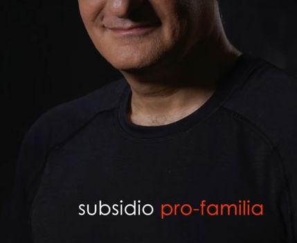 Alex Kouri- subsidio pro familia - a favor de la familia peruana, celula basica de la sociedad