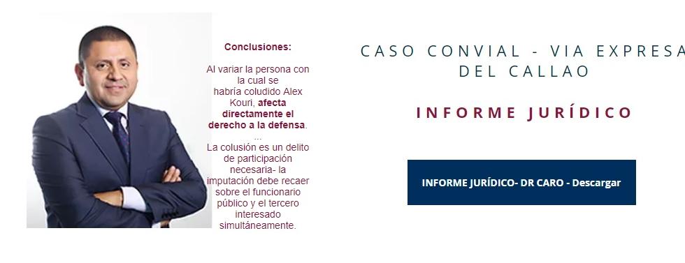 Dr Jose Antonio Caro John- experto penalista
