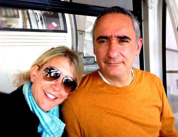 Andrea LLona & Alex Kouri