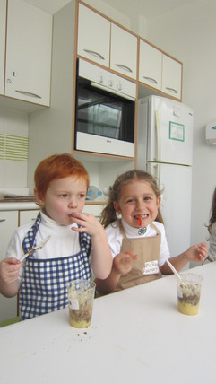 Cooking earthworms