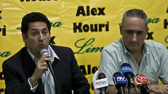 Alex Kouri y Salvador Heresi