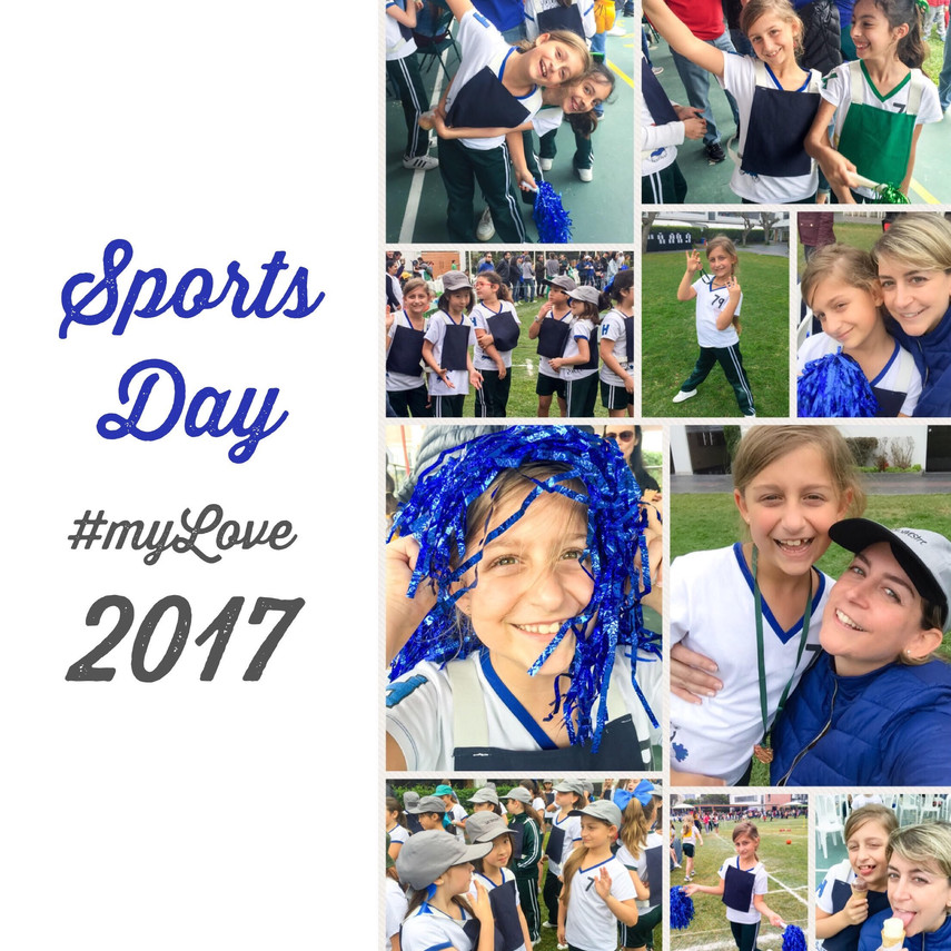Sports Day 2017 collage