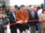 Alex Kouri inaugurnado obras
