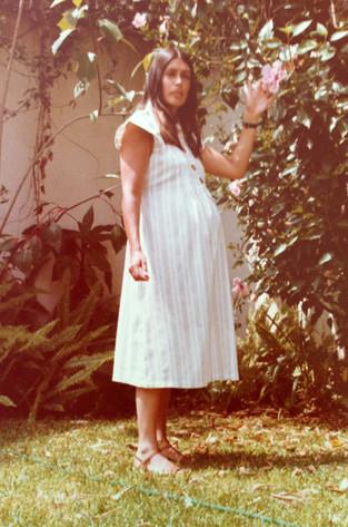 Mamá embarazada de Felipe