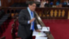 Alex Kouri- Audiencia Corte Surpema 20.09. 17- Dr Luis Alberto Bramont Arias Atrás: Andrea LLona de Kouri, Dr Ricardo Sánchez, abogado del caso